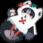 2 Japanese Raccoon Dog