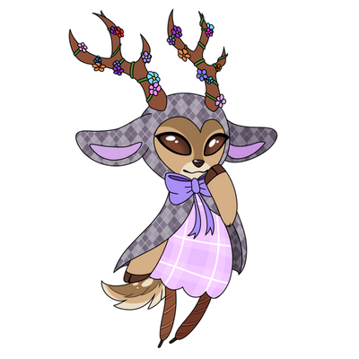 46 White-Tailed Deer