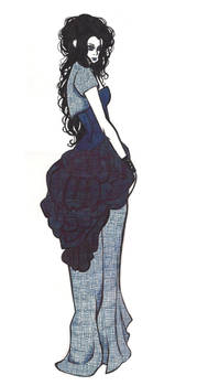 Aquarius - Lady in Blue