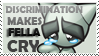 Fella Cry With Discrimination