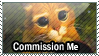 Commission Me Stamp by Luna-Akari