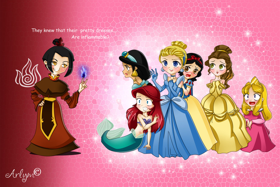 Disney Princess Azula? by Luna-Akari