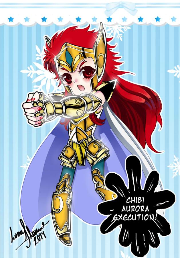 Chibi Aurora Excecution by Luna-Akari
