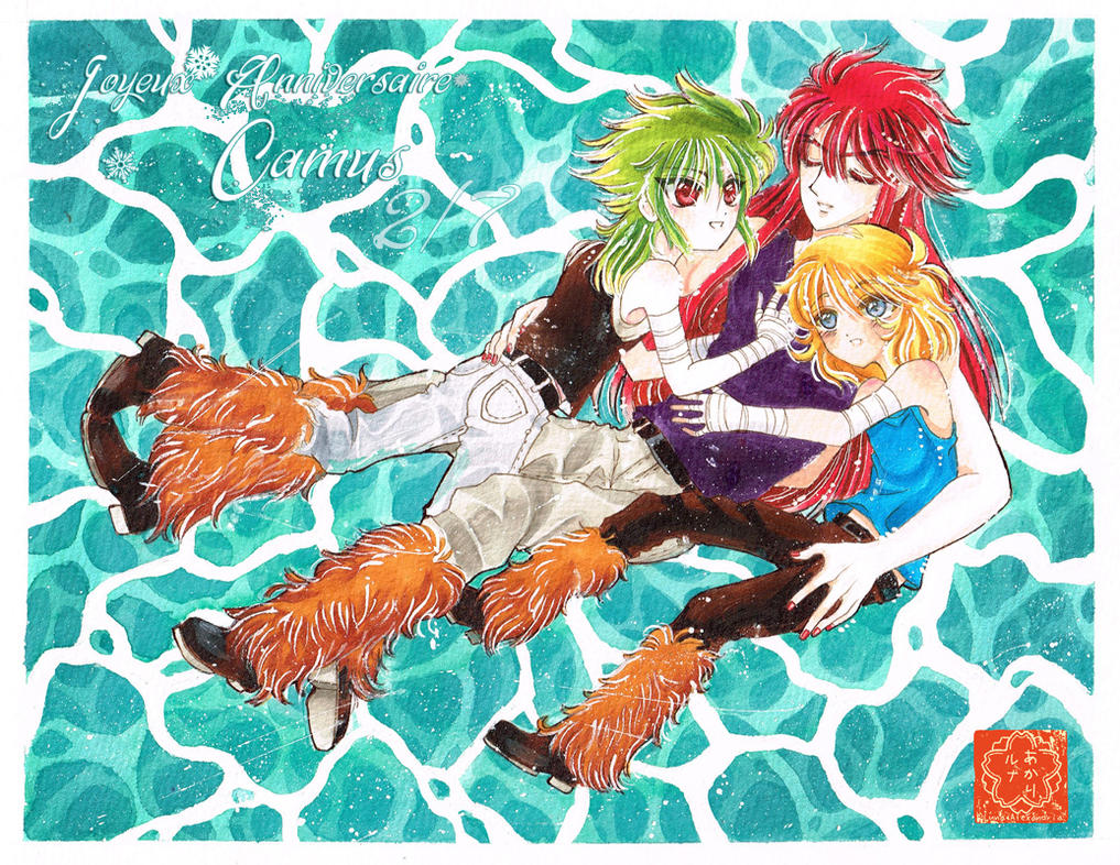 Joyeux anniversaire Camus! by Luna-Akari