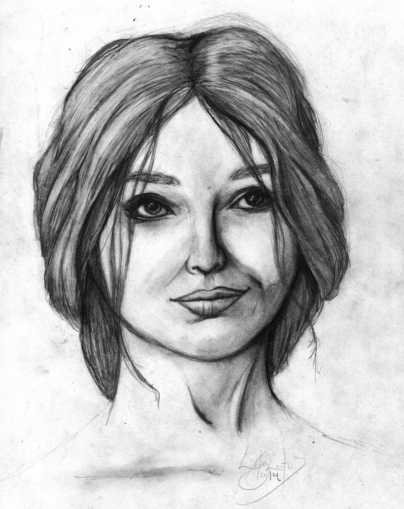 A Portrait v2.0 by Edglatus