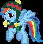 Rainbow Dash Hearth's Warming Eve