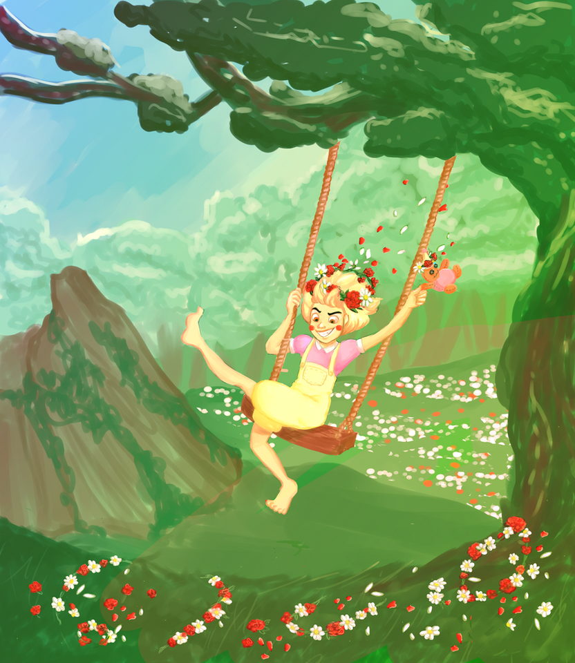 RoA: Begonias and Daisies by MyDearWattz