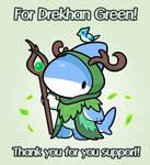 Reward Art for Drekhan Green!