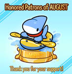 HONORED PATRONS for August