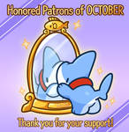 Honored Patrons of October!