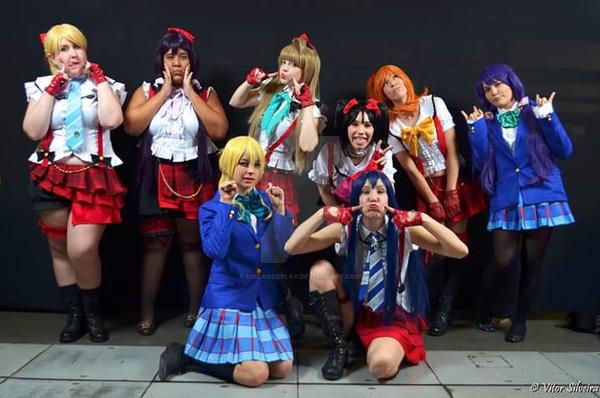 Honoka (Love Live!) by nielacosplay