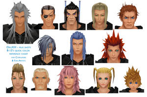Organization XIII head shotREF by 8-13