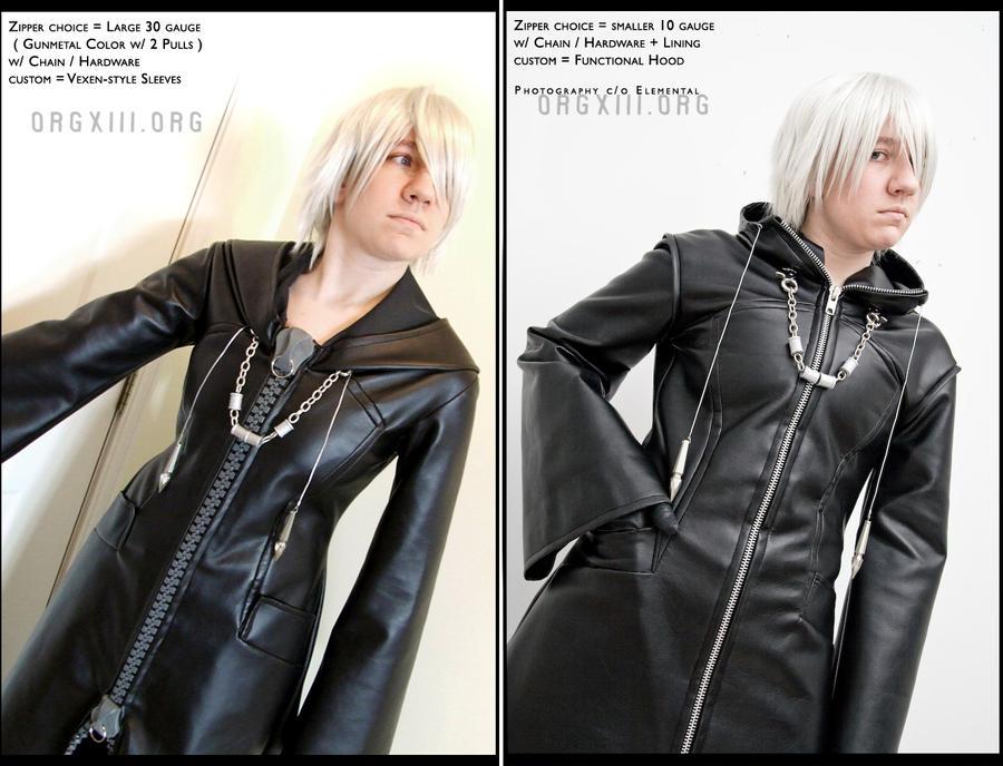 Organization XIII cosplay coats by 8-13