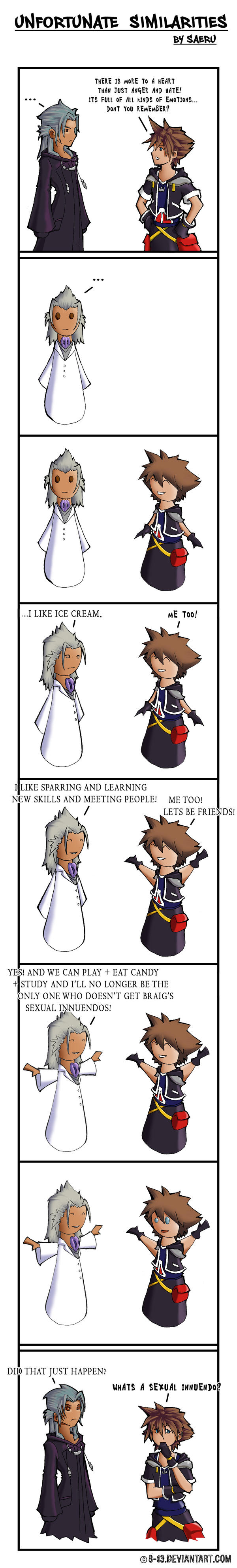 KH2 - Unfortunate Similarities by 8-13