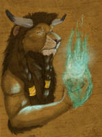 Tauren Lion Gift by RogueLiger
