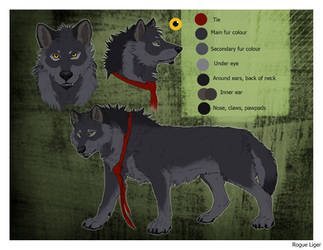 Wolfie-Reference sheet by RogueLiger