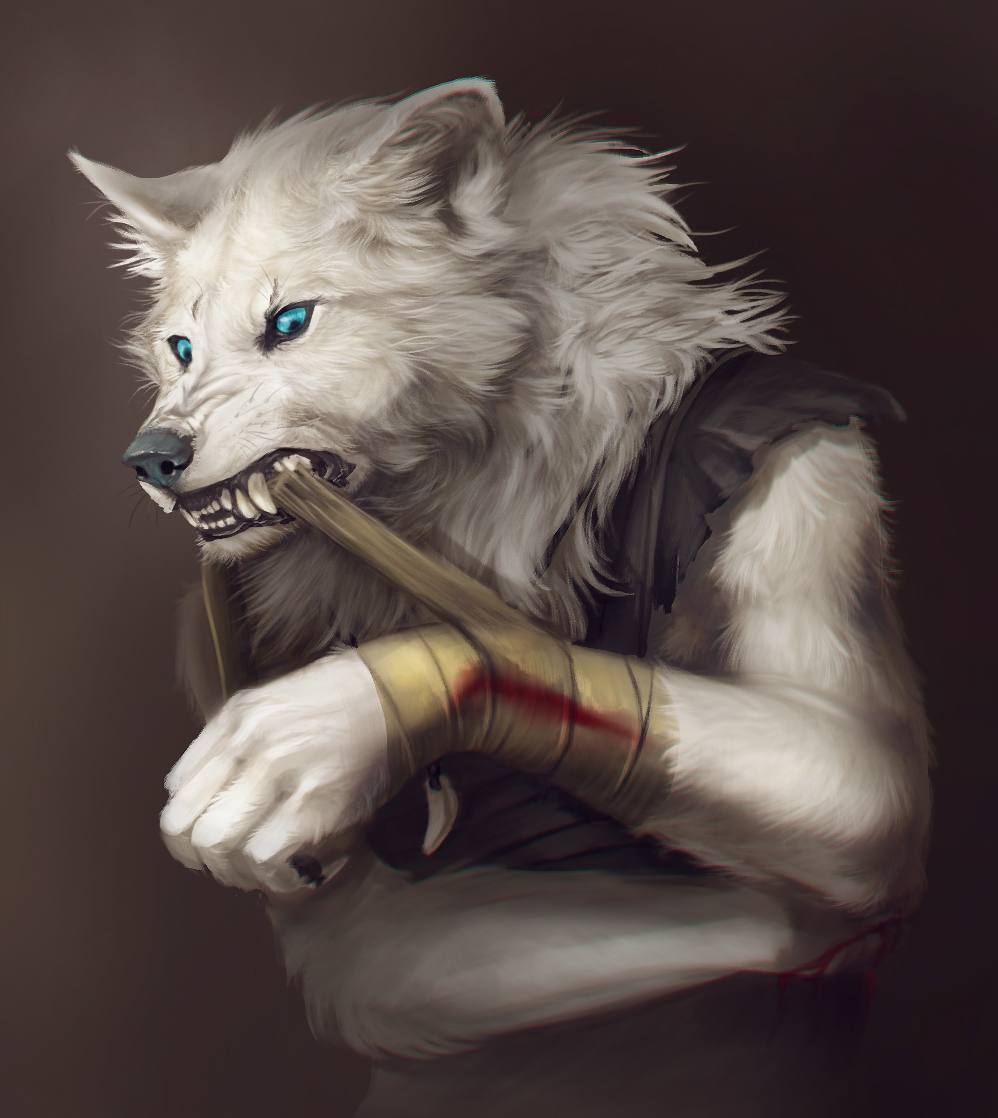 NagiWolf -commission- by Rogue-Lgr