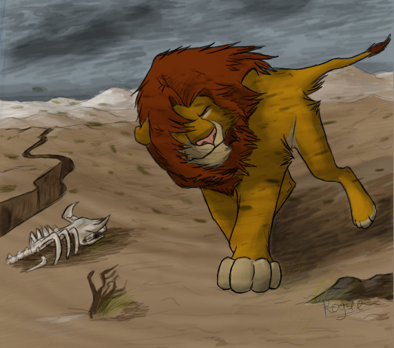Simba's Return by RogueLiger on DeviantArt