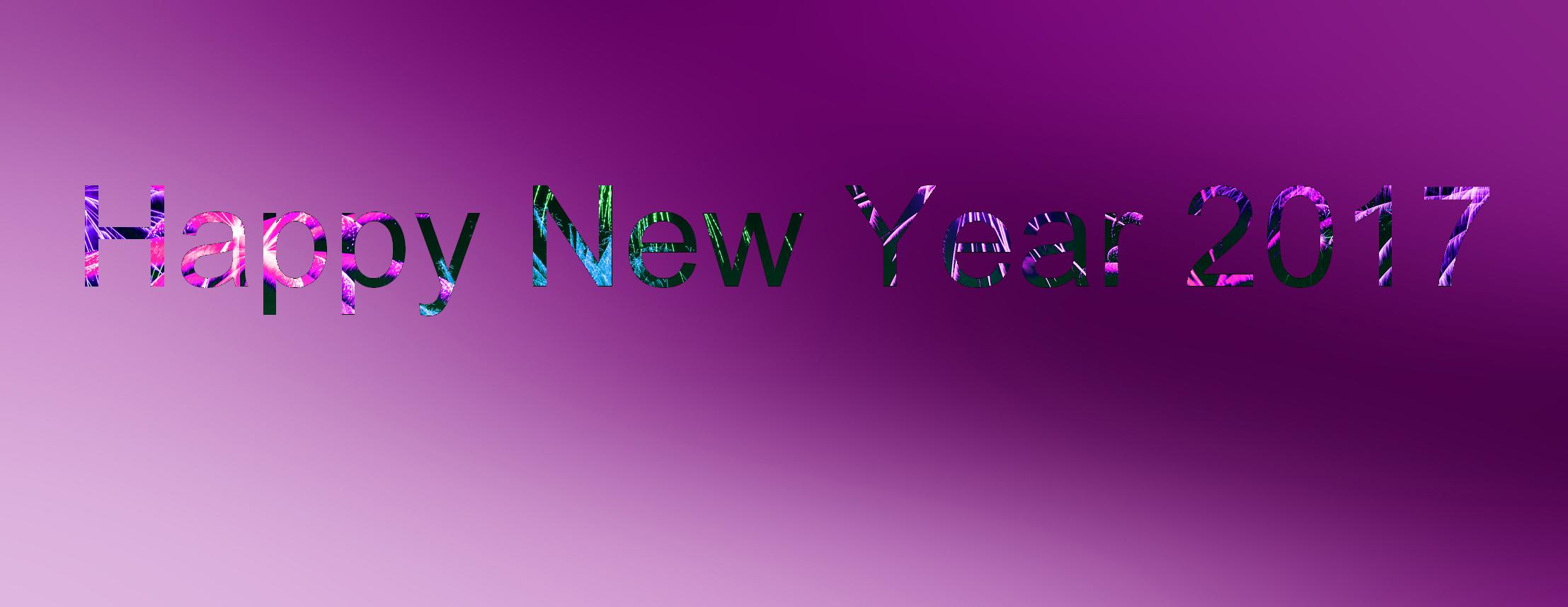 Happy New Year 2017 by lecristal