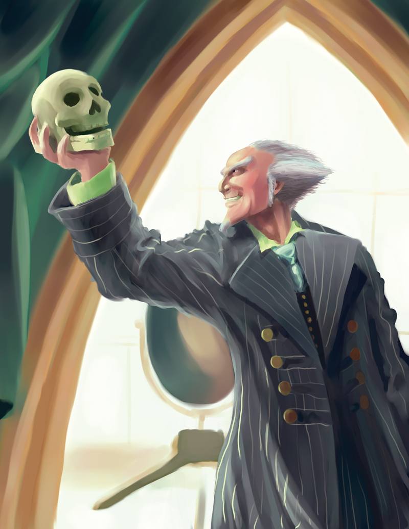 Jim Carrey as Count Olaf by Eloth on DeviantArt