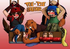 Com - Toe-Tied-Breaker! by LycanthropAsh