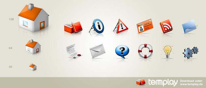 templay Icon Set