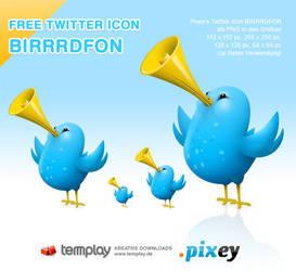 Twitter Icon BIRRRDFON