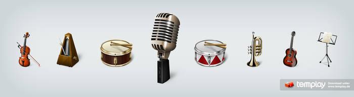 Musicons Icon Set