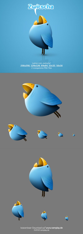 Zwitscha Twitter Icon