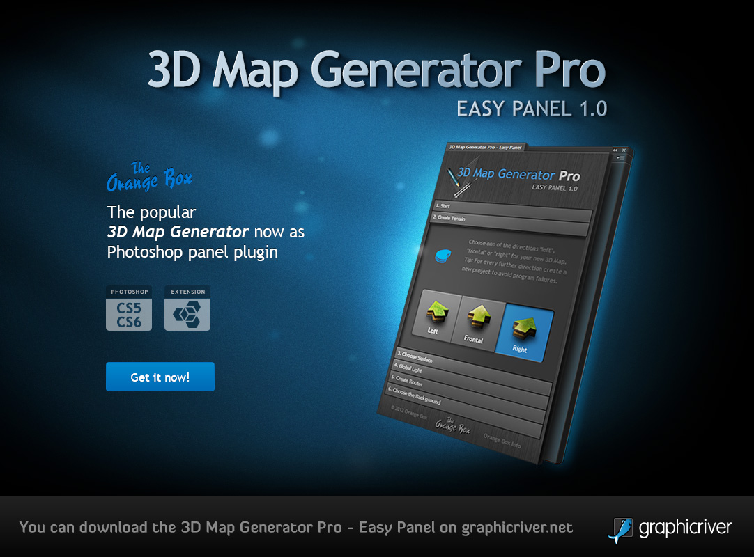 3D Map Generator Pro - Easy Panel by templay-team on DeviantArt