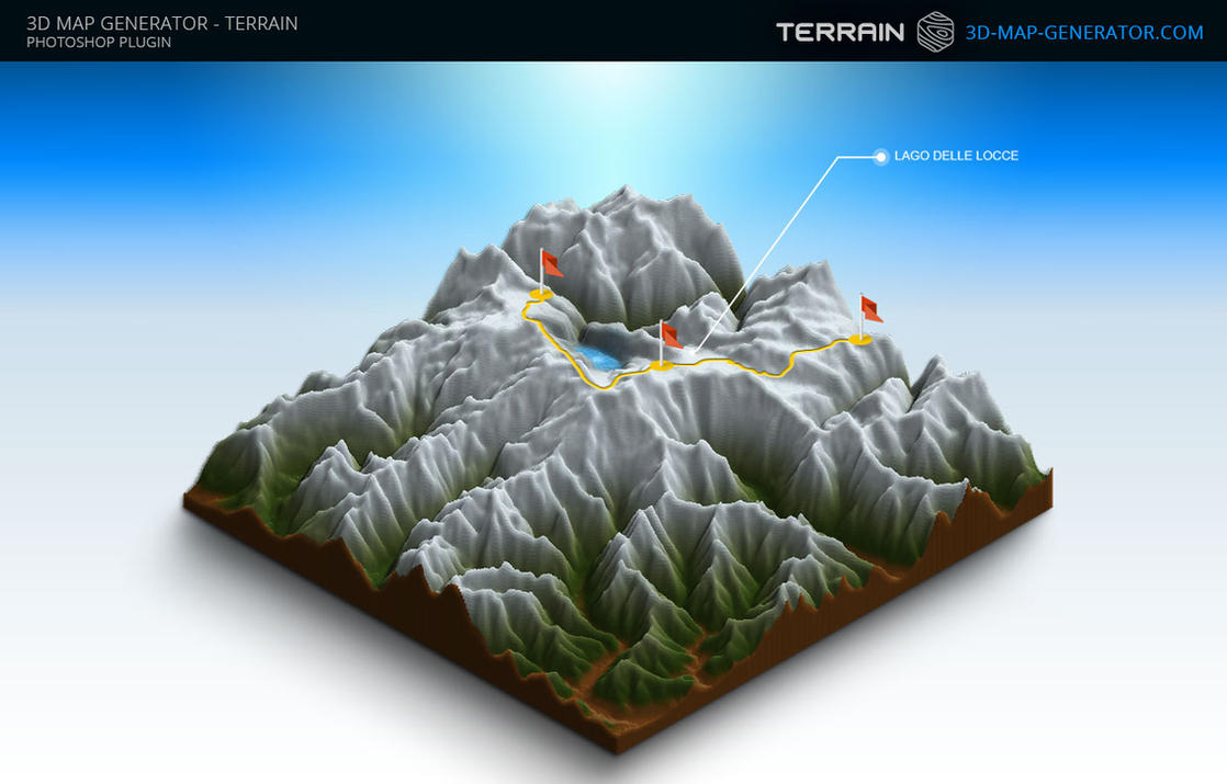 3d map generator terrain mountains by templay team on for Programma per disegnare bagni 3d gratis italiano