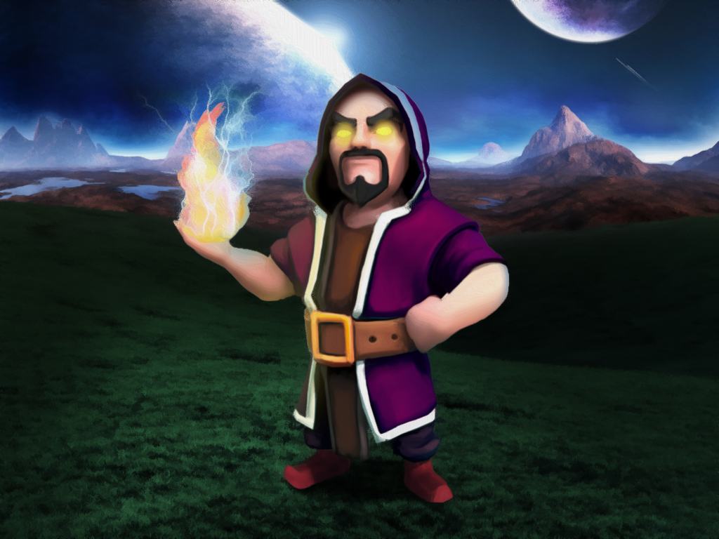 Level 6 Wizard by V-Snow on DeviantArt - 502.8KB