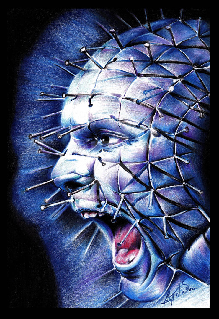 12 best images about Horror movie art  Hellraiser Deviantart