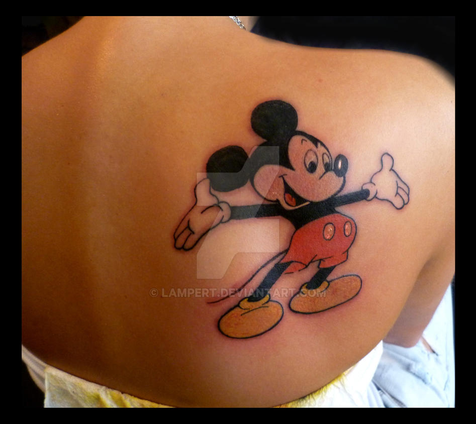 f454c79f6 Mickey Mouse tattoo by Lampert on DeviantArt