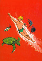 Jonny Quest Annual back cover by Curious4ever