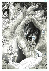 Barry Blair original art by Curious4ever