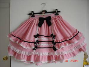 Sweet-goth Lolita skirt