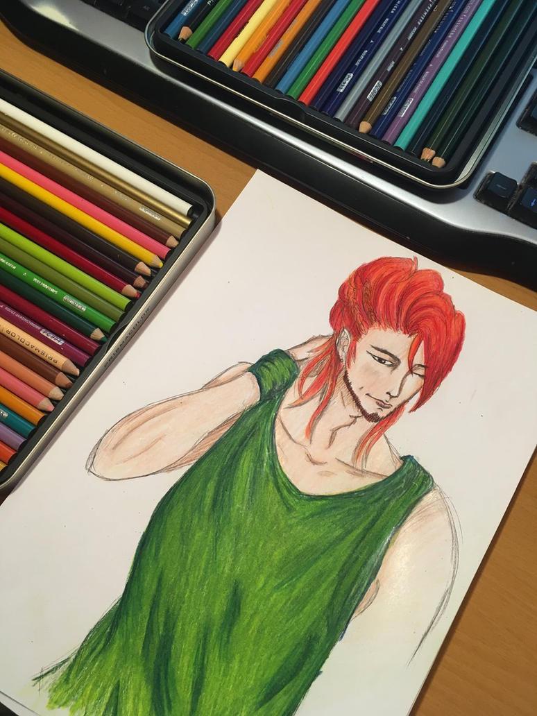 Anime Guy  by YumiDraws