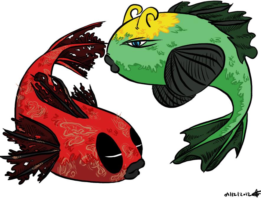 Lokish / Deadfish by azzash