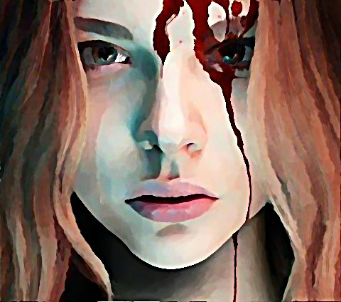 Chloe Moretz as Carrie White by a-harmon