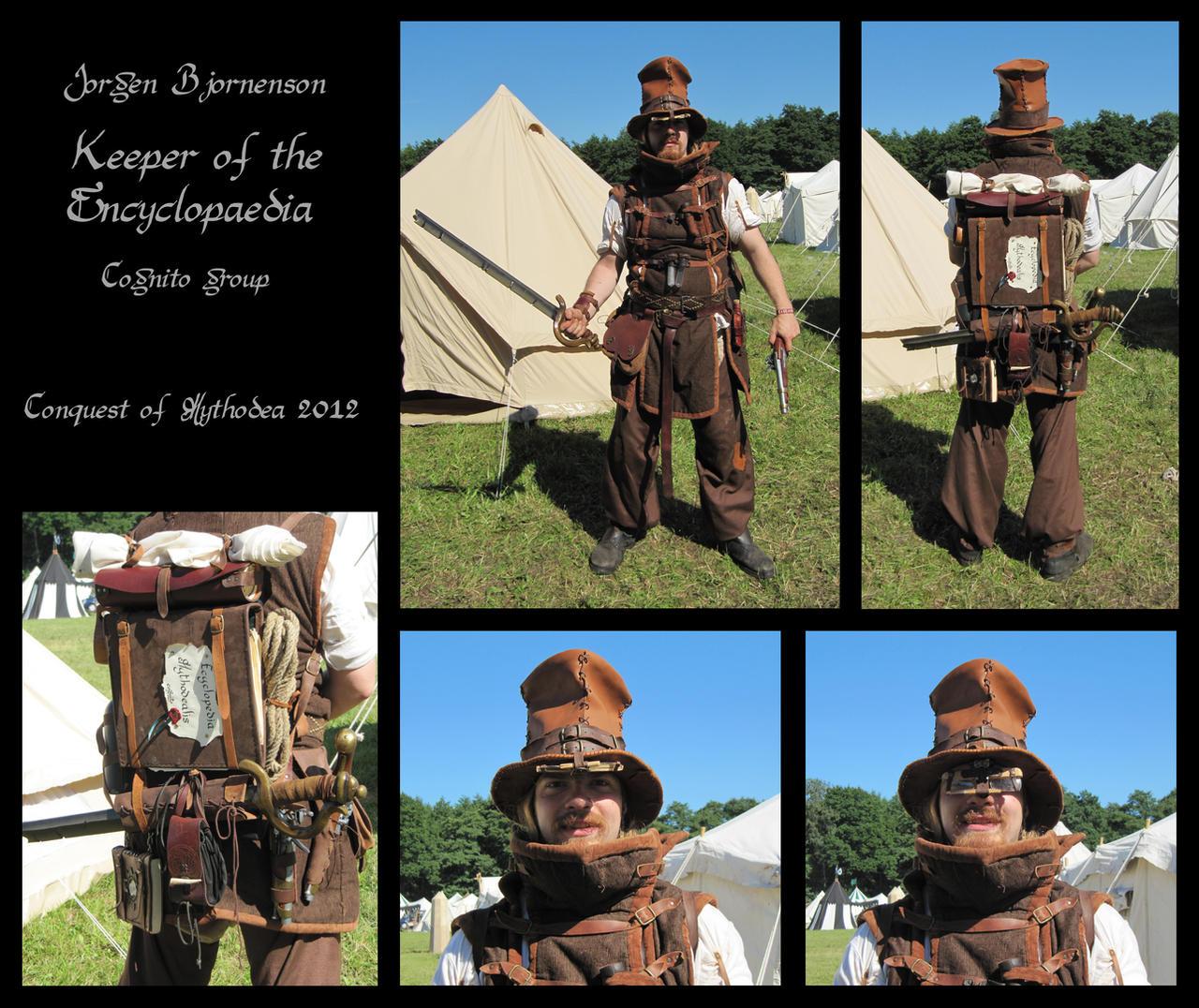 Jorgen, Keeper of the Encyclopeadia by carlviking