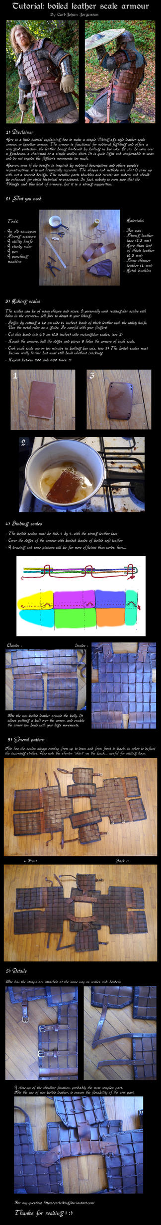 Tutorial: leather armour by carlviking
