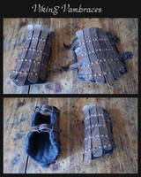 Viking vambraces by carlviking