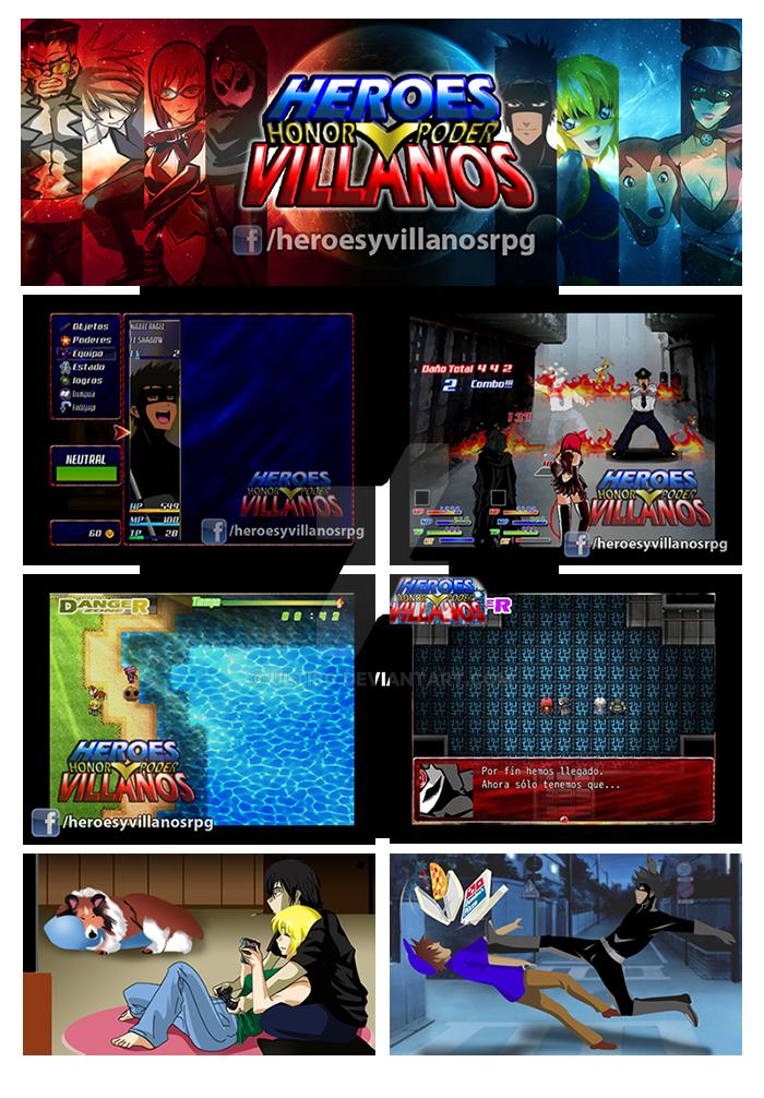 HEROES Y VILLANOS RPG MAKER GAME by ultisg