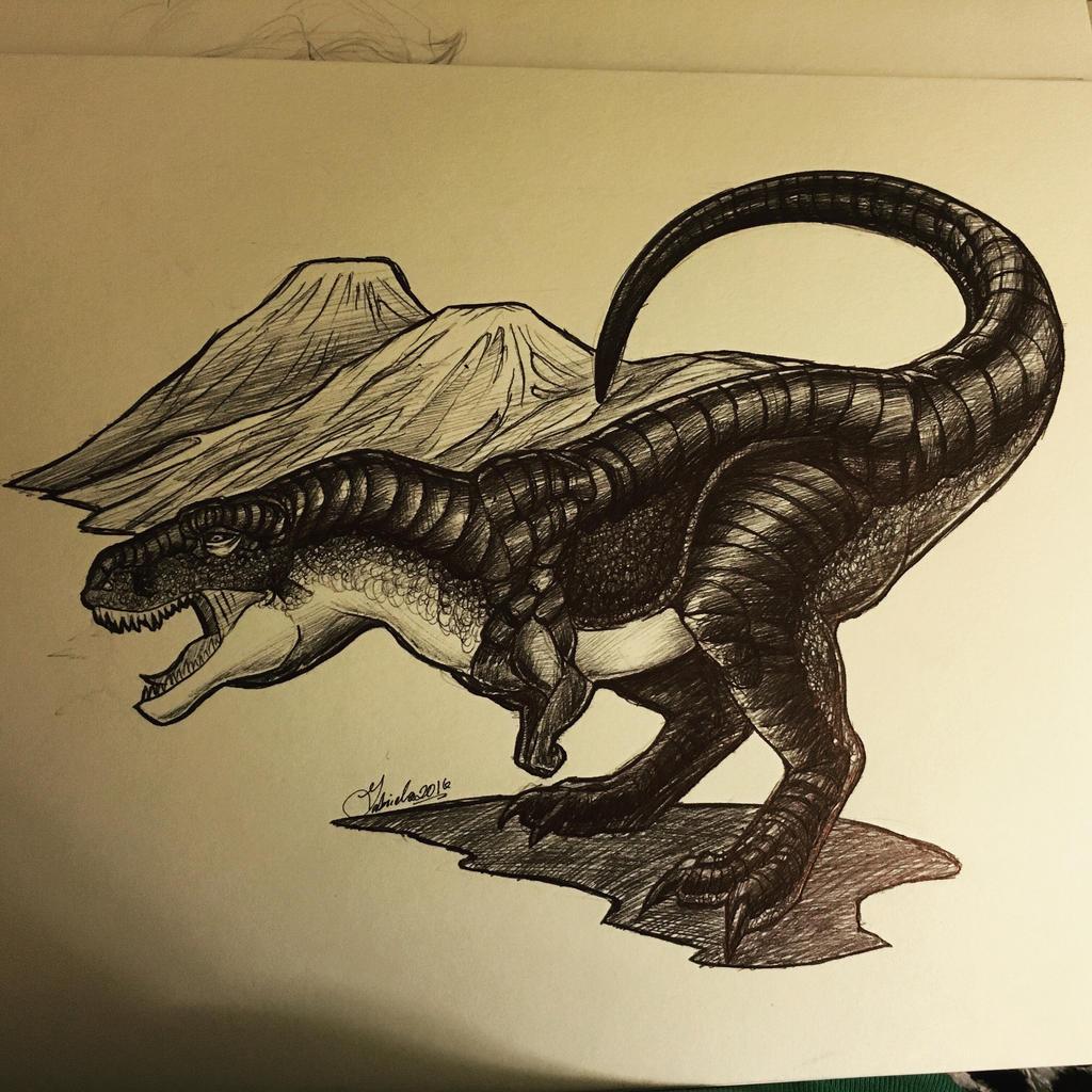 Leviathan | Tyrannosaurus Rex by Haleviyah on DeviantArt
