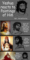 Yeshua Reacts to Paintings of Him
