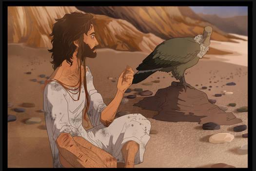 Yehoshua in The Desert