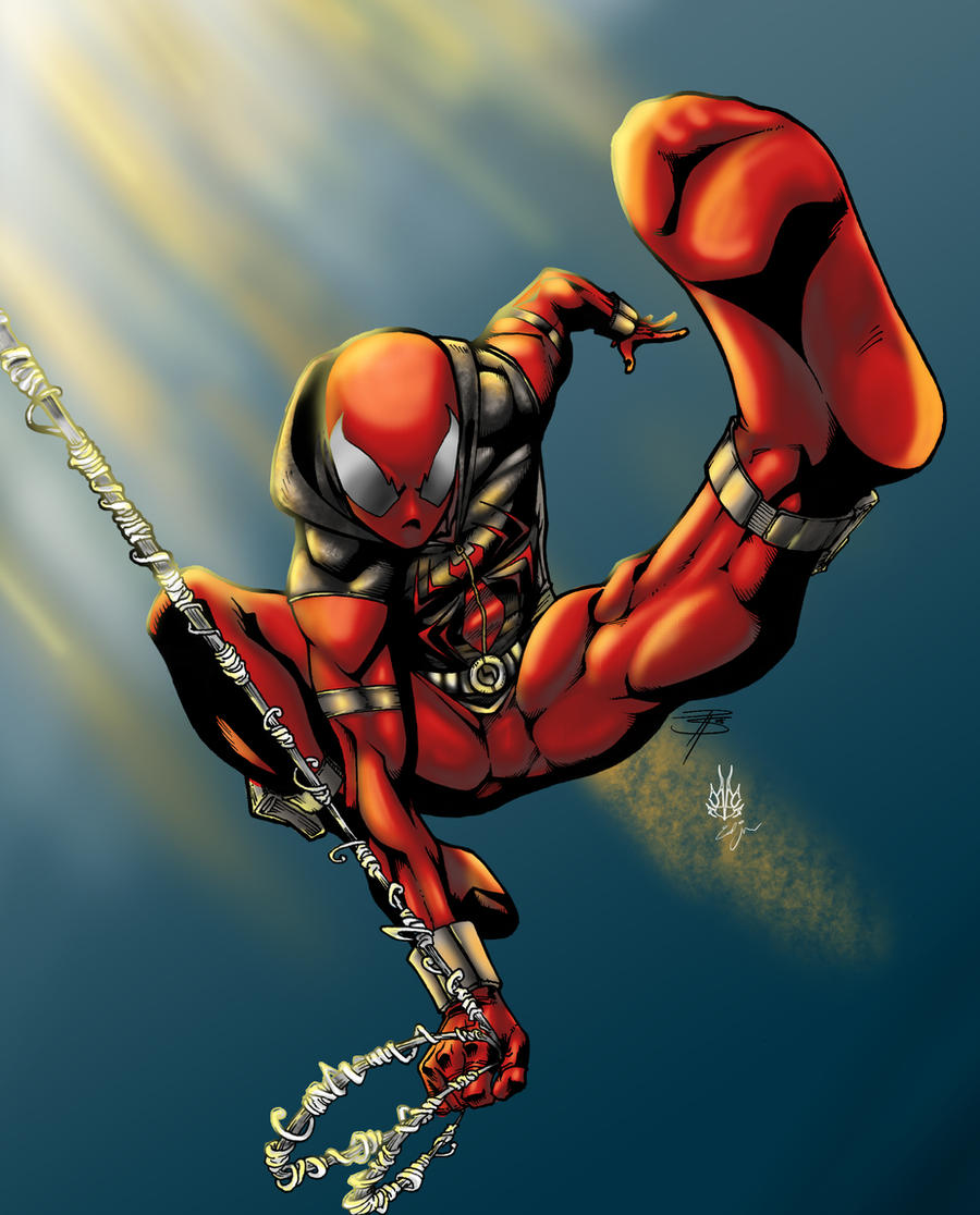 scarlet spider 121 pages - photo #30