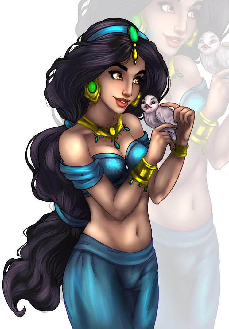 Jasmine Lines By Madam Marla - Colour by Edjnr