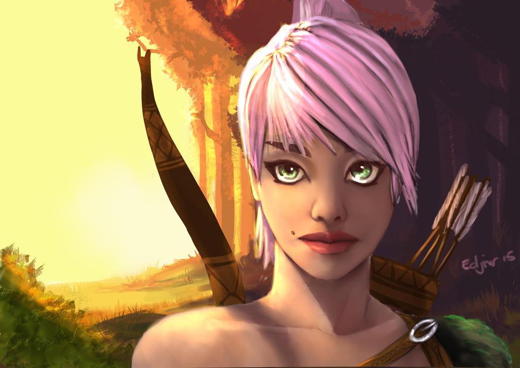 Bow-woman Horizon Zero Dawn Inspired by Edjnr